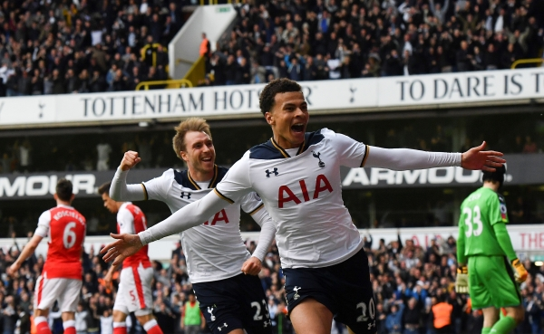 30th April 2017 - Tottenham Hotspur 2-0 Arsenal