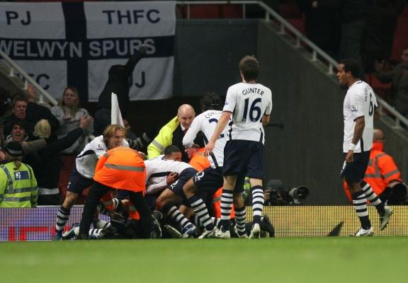 29th October 2008 - Arsenal 4-4 Tottenham Hotspur
