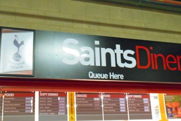Saints diner