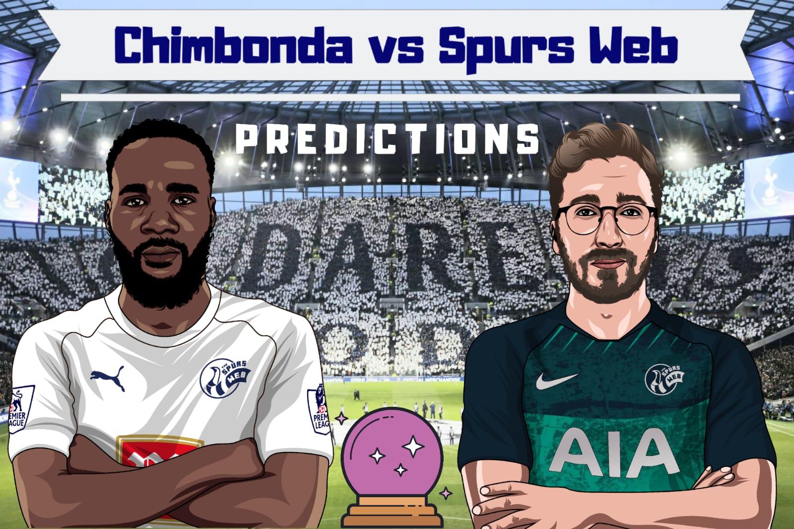 Opinion: Chimbonda vs SpursWeb score prediction series – West Ham